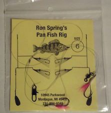 Surf Perch Hook Size | Ron Spring's Perch Panfish Rig Hook