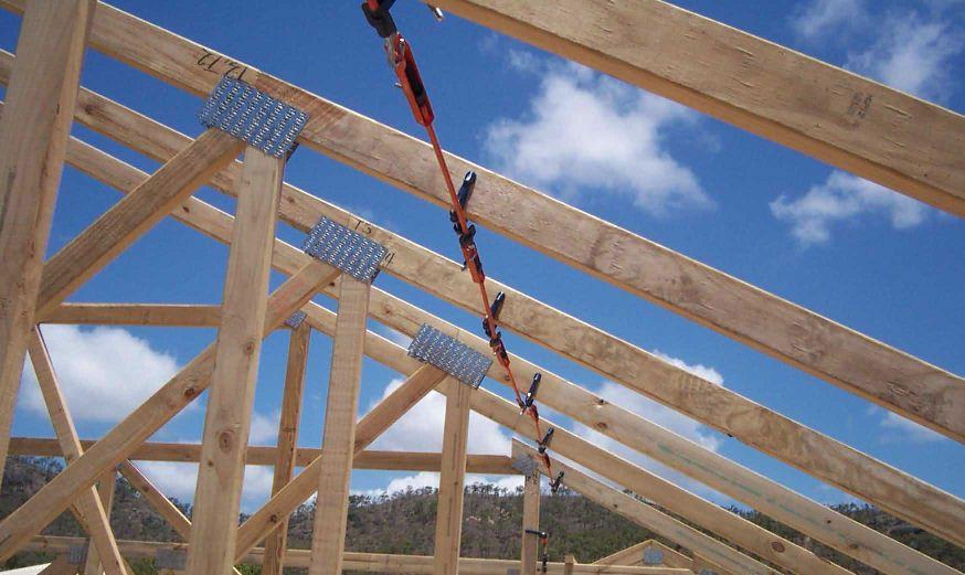 Easy final truss bracing t r u s s pinterest roof for Buy roof trusses online