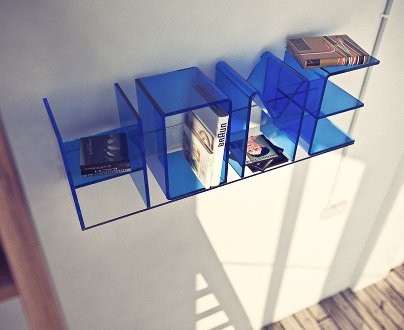 Acrylic Letterforms By Ricard Mollon These Thermoformed Acrylic Letterforms  By Ricard Mollon Arenu0027t Just Book Shelves, They Also Tell A Lot About Your  Home, ...