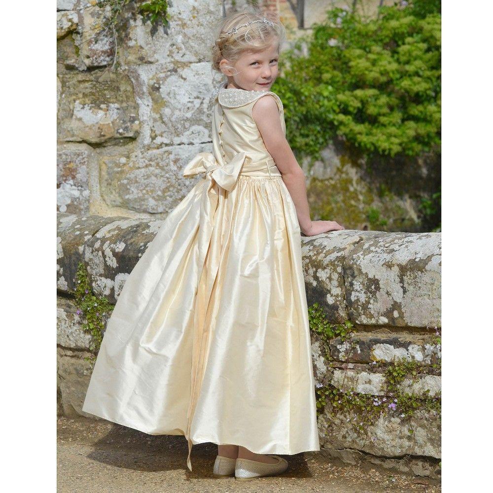 Stunning gold dress by nicki macfarlane at childrensalon
