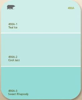 Retro Ranch Reno's kitchen walls Paint? Cool Jazz by Behr