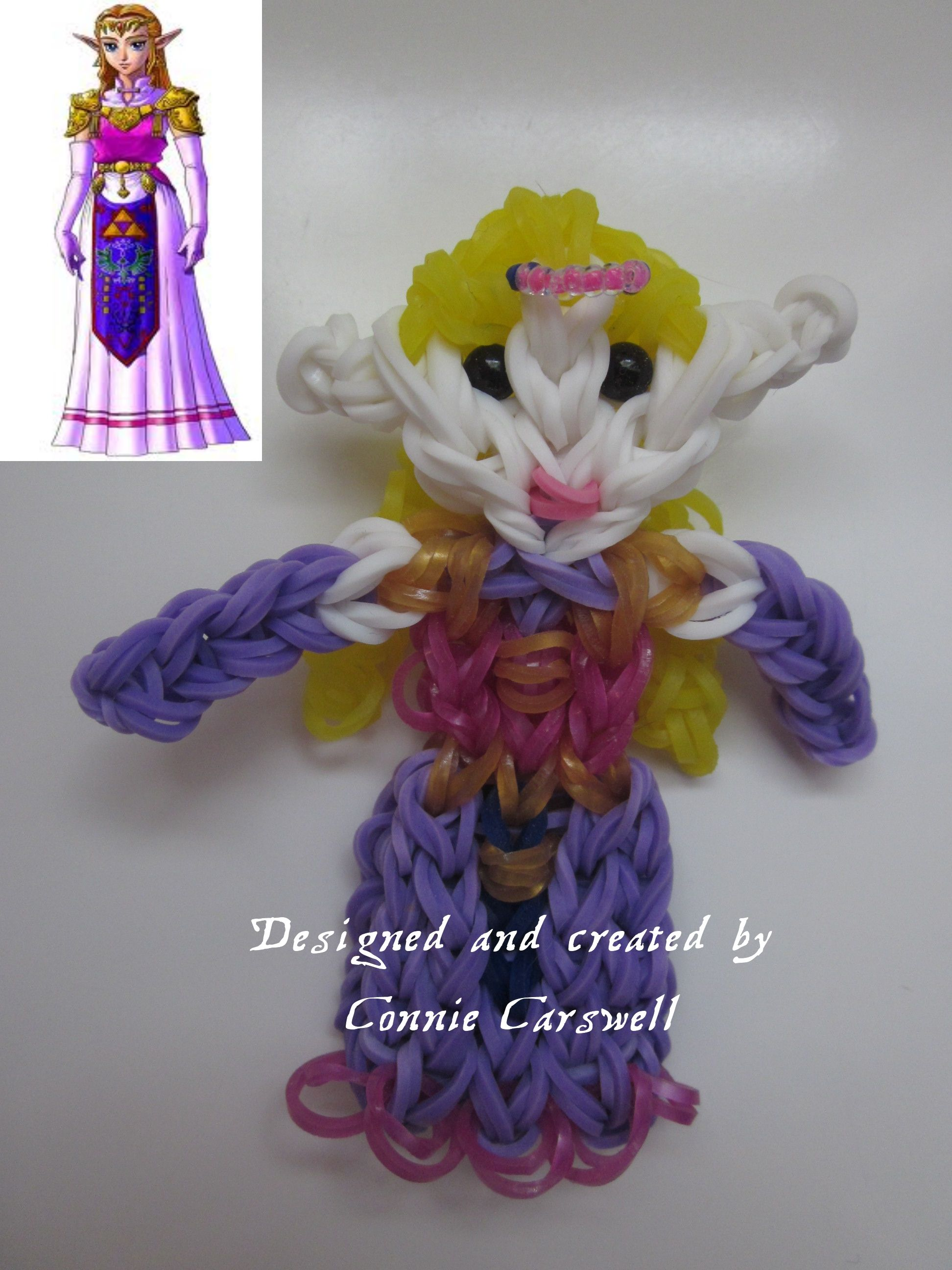 Rainbow Loom Princess Zelda Charm Fyi The Bands At The