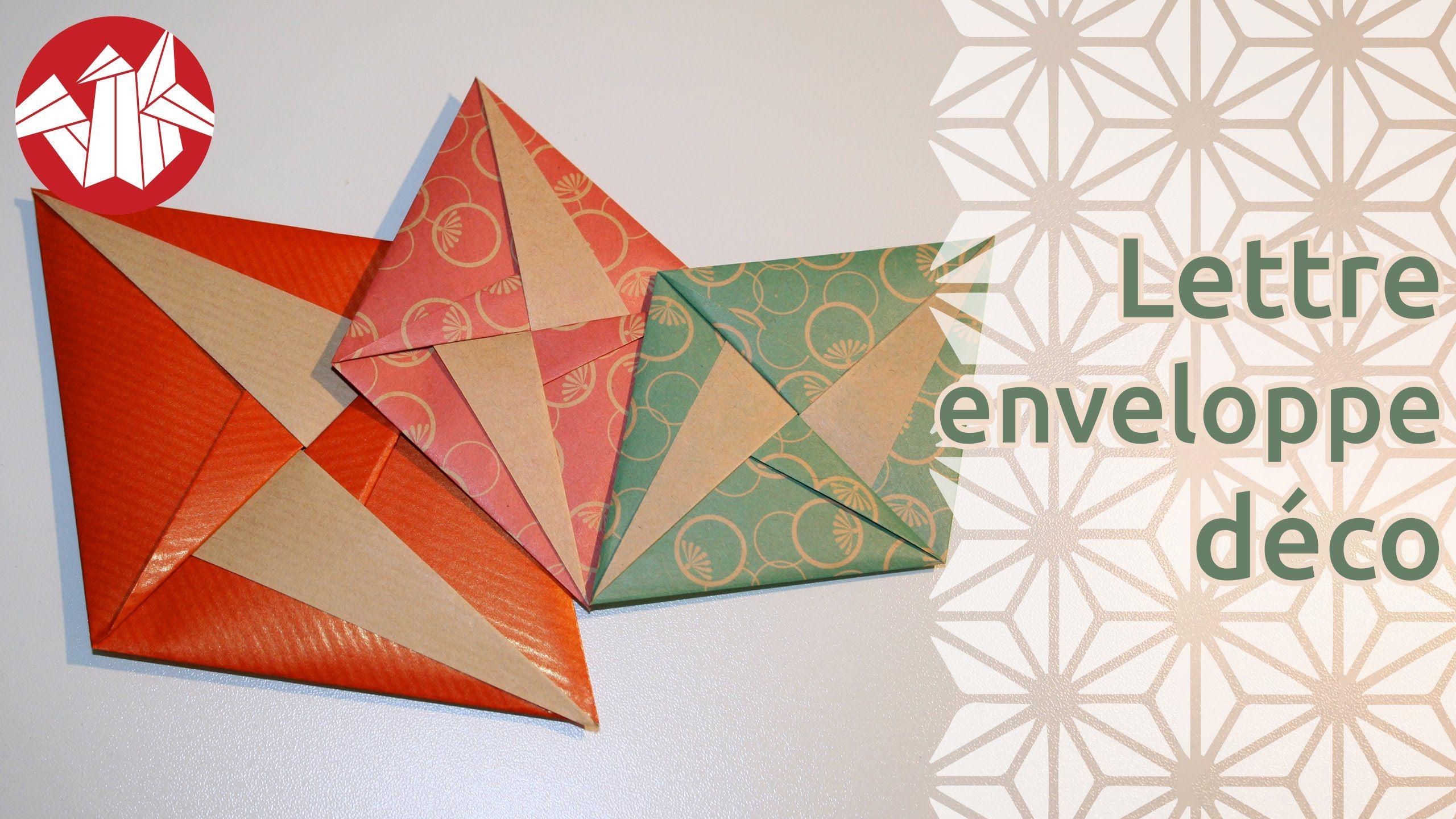 Origami  LettreEnveloppe Dco De Tomoko Fuse Senbazuru  I