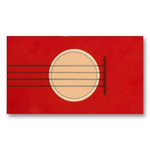 Graphic designer business card prices awesome graphic library retro guitar graphic red musical instrument design business card rh pinterest co uk graphic designer business reheart Image collections