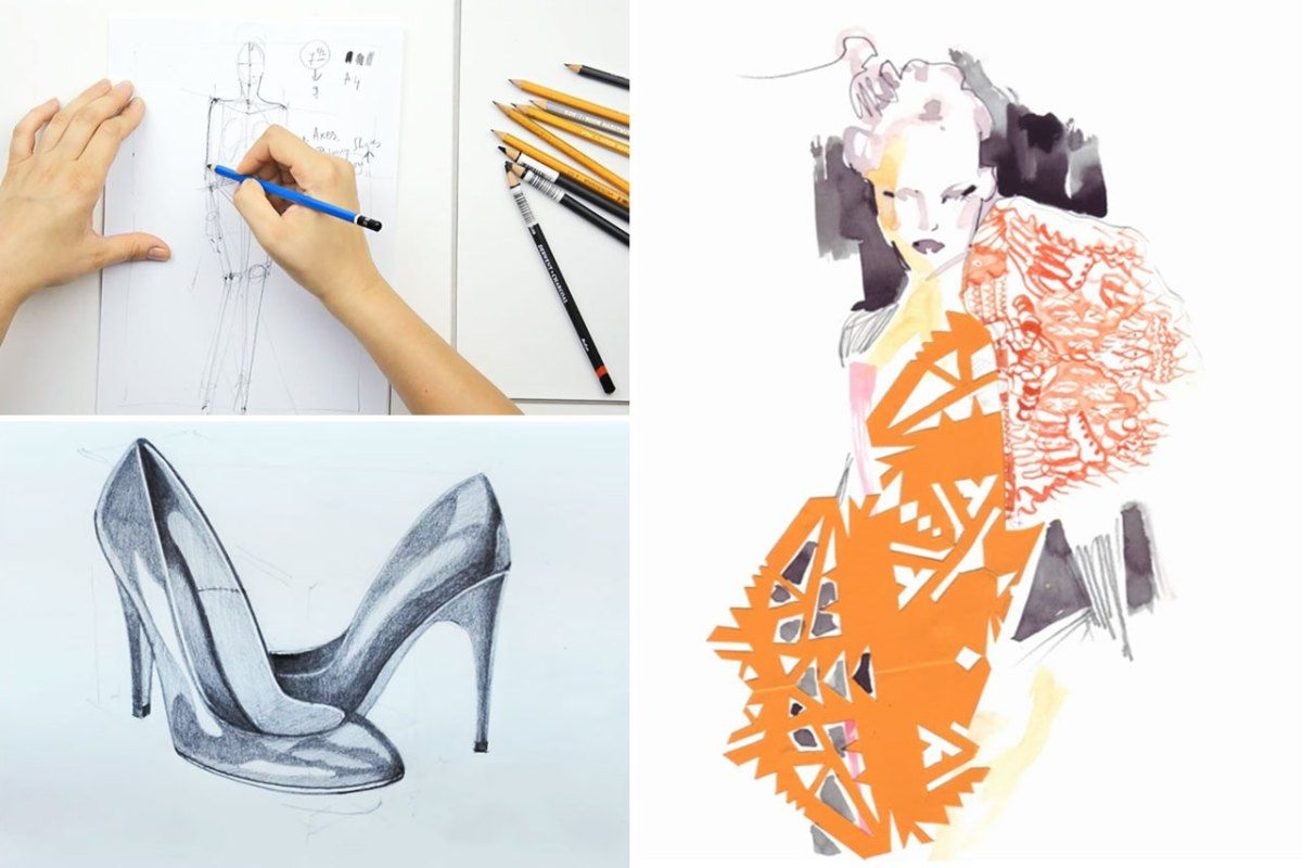 How To Learn Fashion Designing At Home 2021 Be Creative Thinis In 2020 Become A Fashion Designer Fashion Designing Course Fashion Design