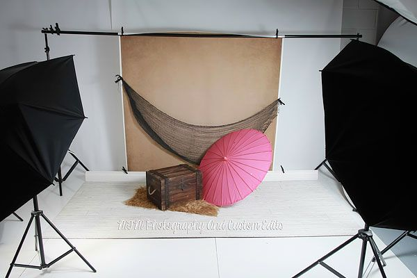 Photographing Babies Studio Setup A Pullback Shot