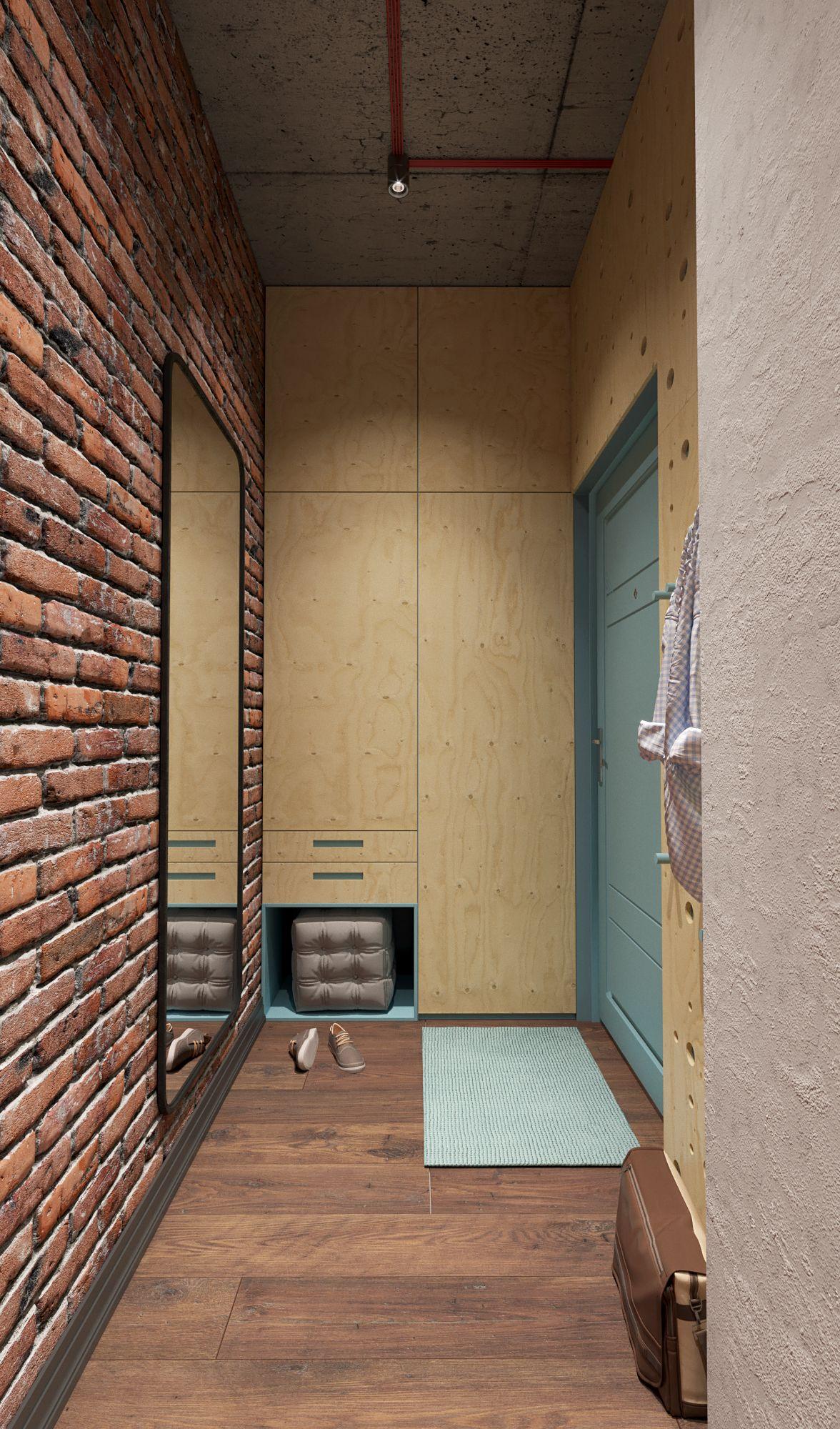Room For Rent Design: Loft Apartment For Rent