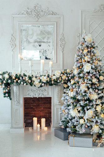 New Christmas Styles available 4663 Elegant White Christmas Tree