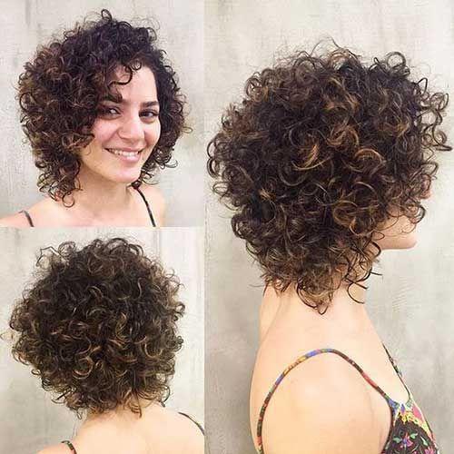 Elegante Rizado Peinados Para Pelo Corto Damas Cabello Y Belleza
