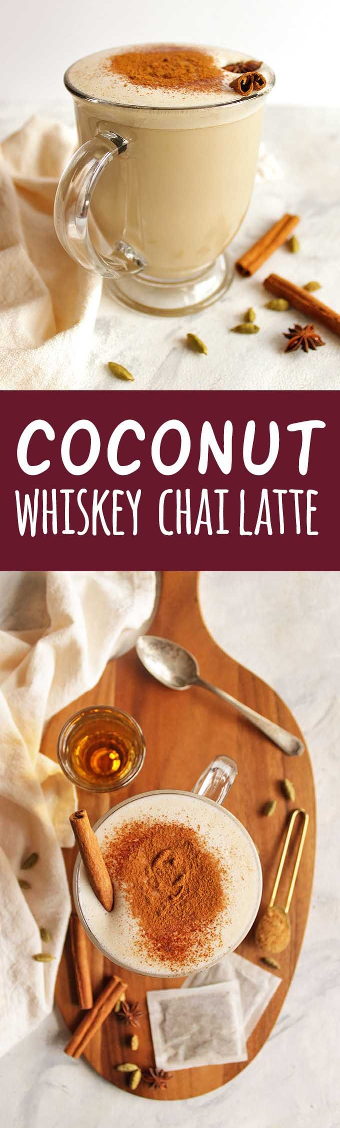 Coconut Whiskey Chai Latte | Recipe | Gluten free drinks ...