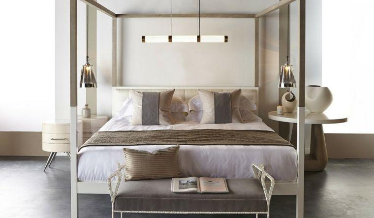 Color Tortora Per Camera Da Letto : Originale camera da letto color tortora comodini top tondo lampada