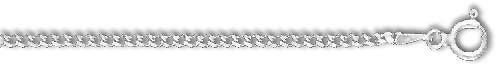 Sterling Silver 8 Inch X 2.0 mm Curb Chain Bracelet - O Ring Clasp - JewelryWeb JewelryWeb. $21.16