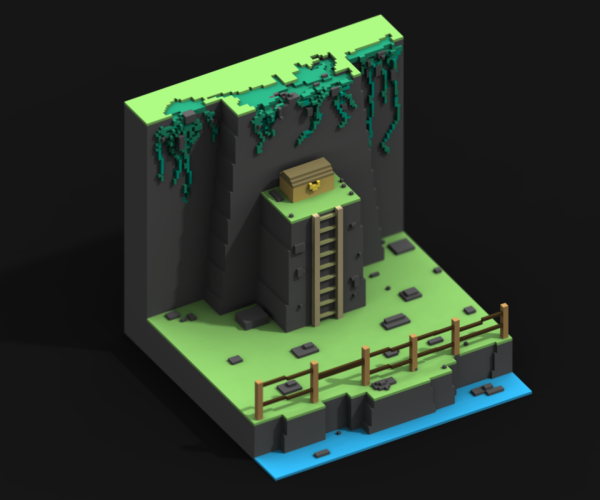 Tyler Egeto | Playing with MagicaVoxel | voxel in 2019