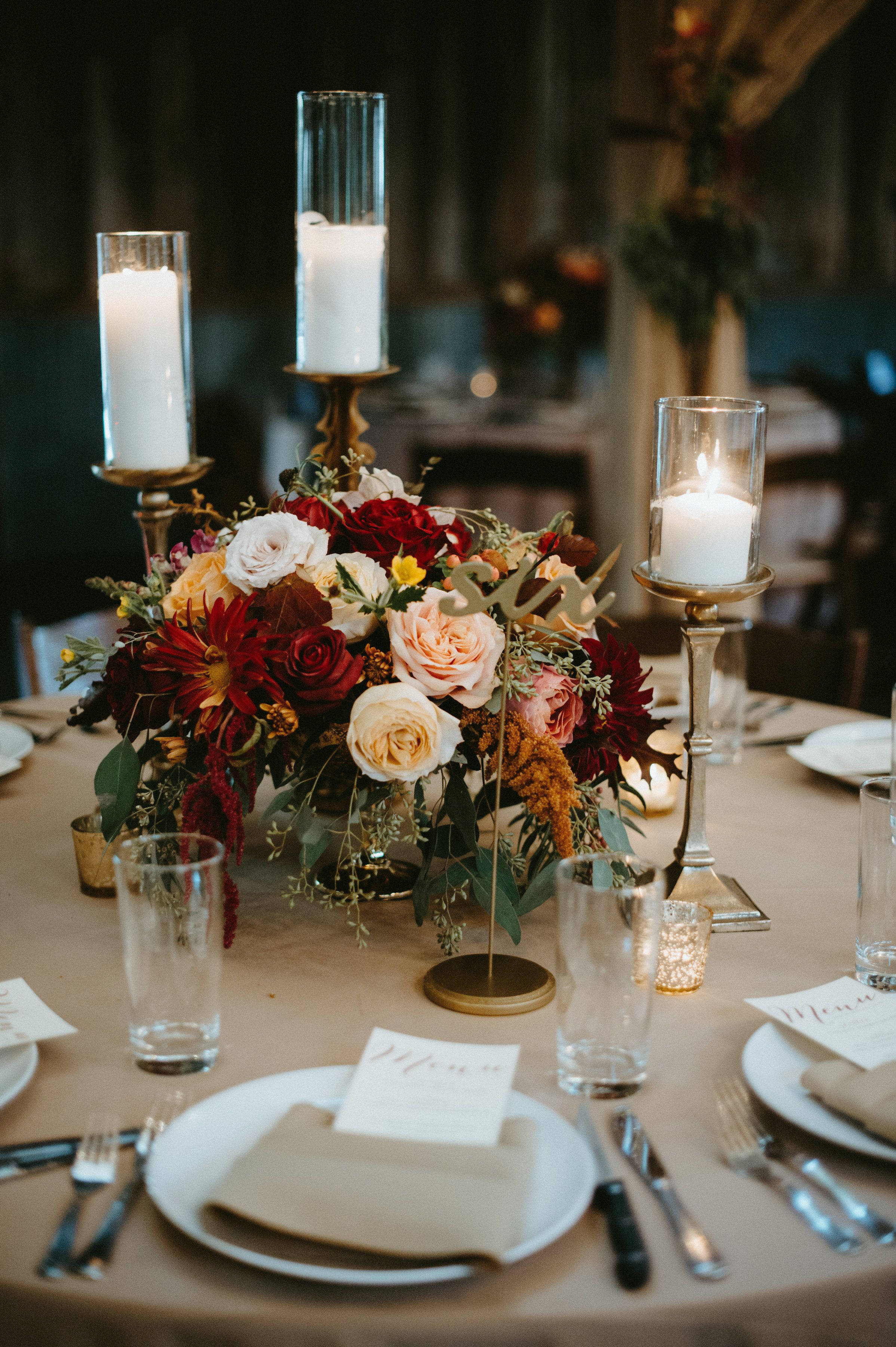 Fall Florals Set The Mood For This Rustic Romance Wedding Rustic