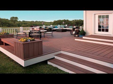 Best Wooden Decking Outdoor Ideas Backyard Patio Deck 640 x 480
