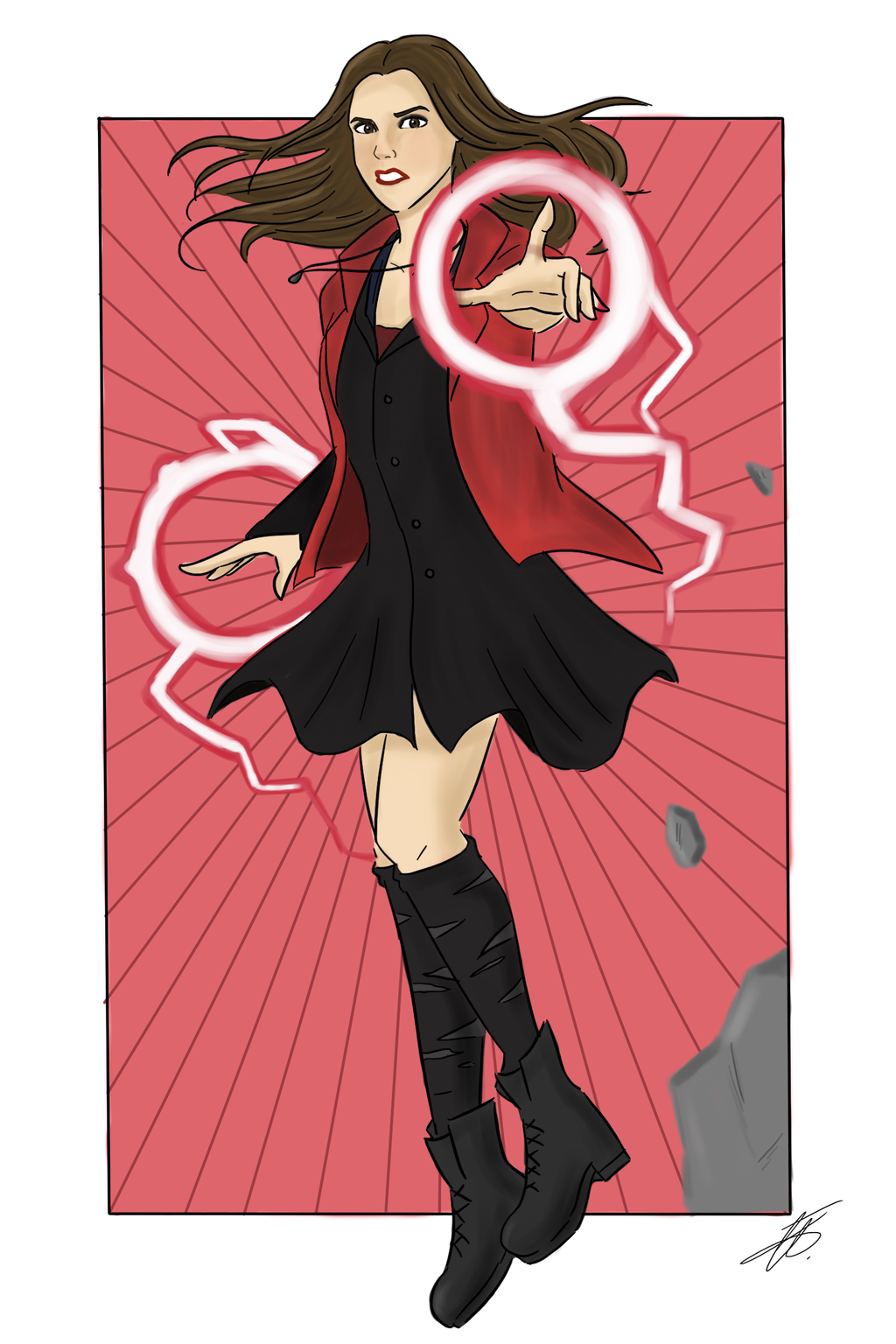 Age of Ultron: Scarlet Witch by xxiiCoko on DeviantArt