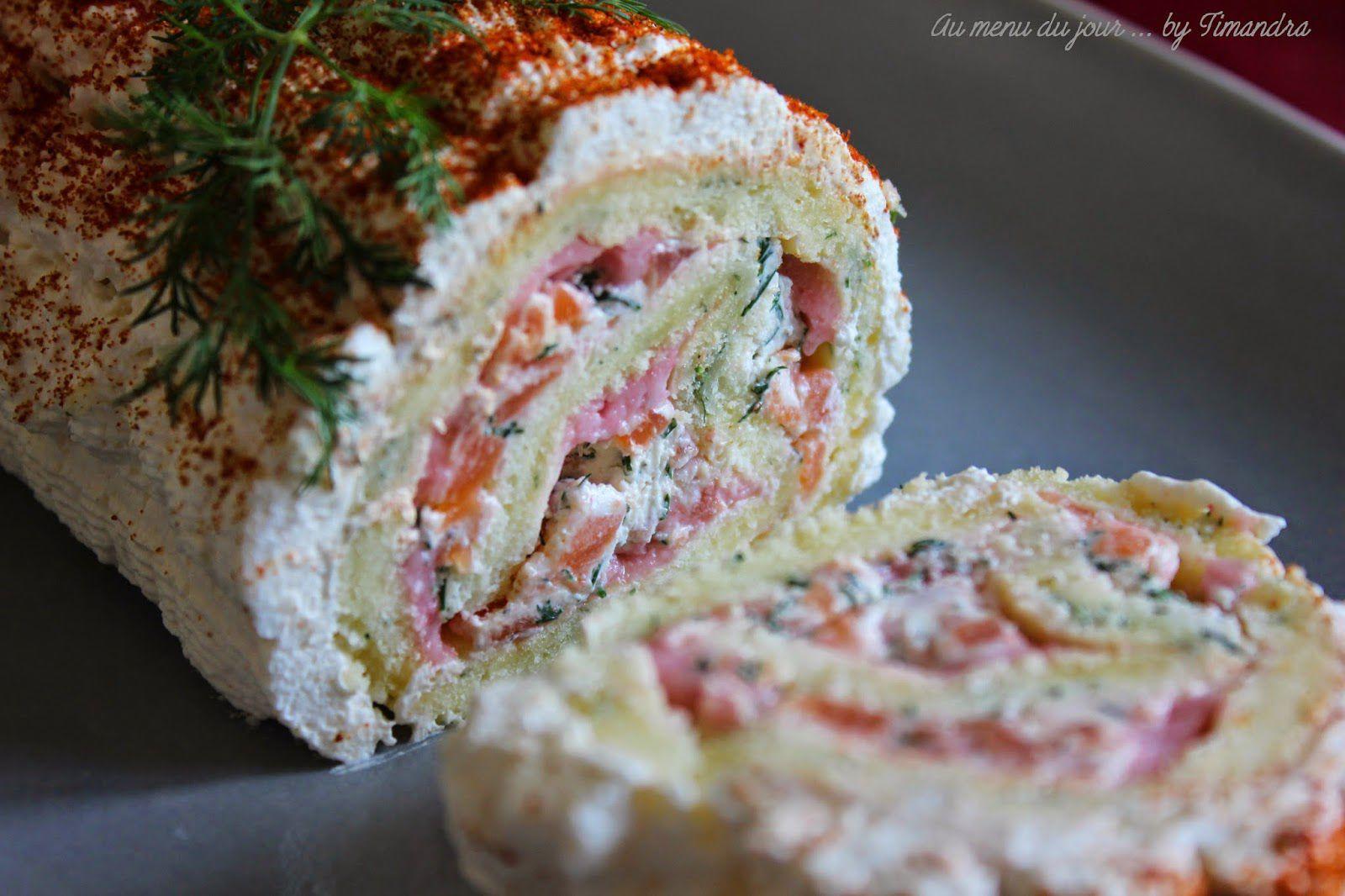 Découvrez la recette Bûche au saumon sur cuisineactuelle.fr.