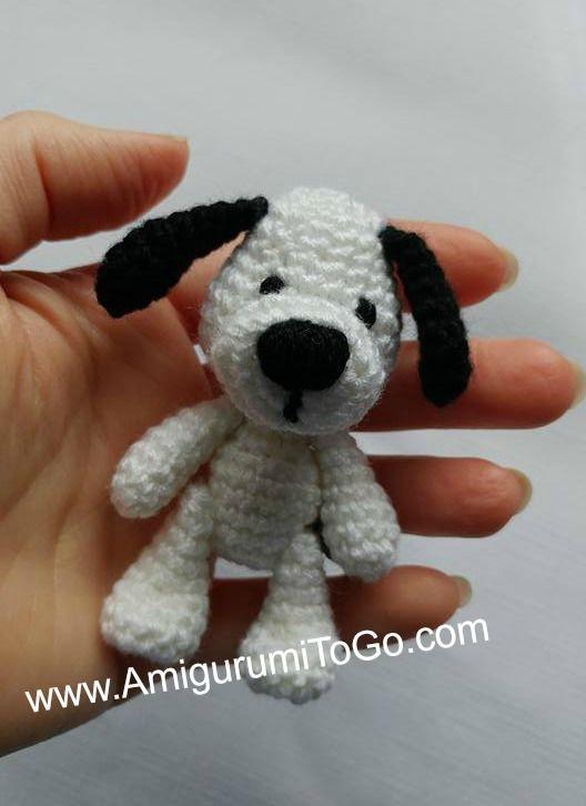 Free Amigurumi Crochet Dog Pattern Bichinhos Em Crochet