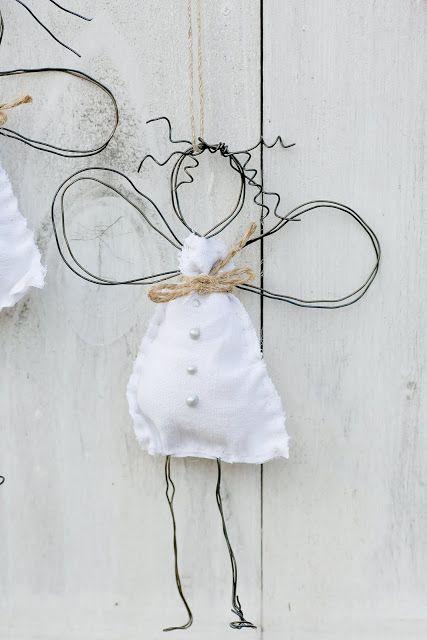 meine ersten engel oder drahtengel diy weihnachten x mas. Black Bedroom Furniture Sets. Home Design Ideas