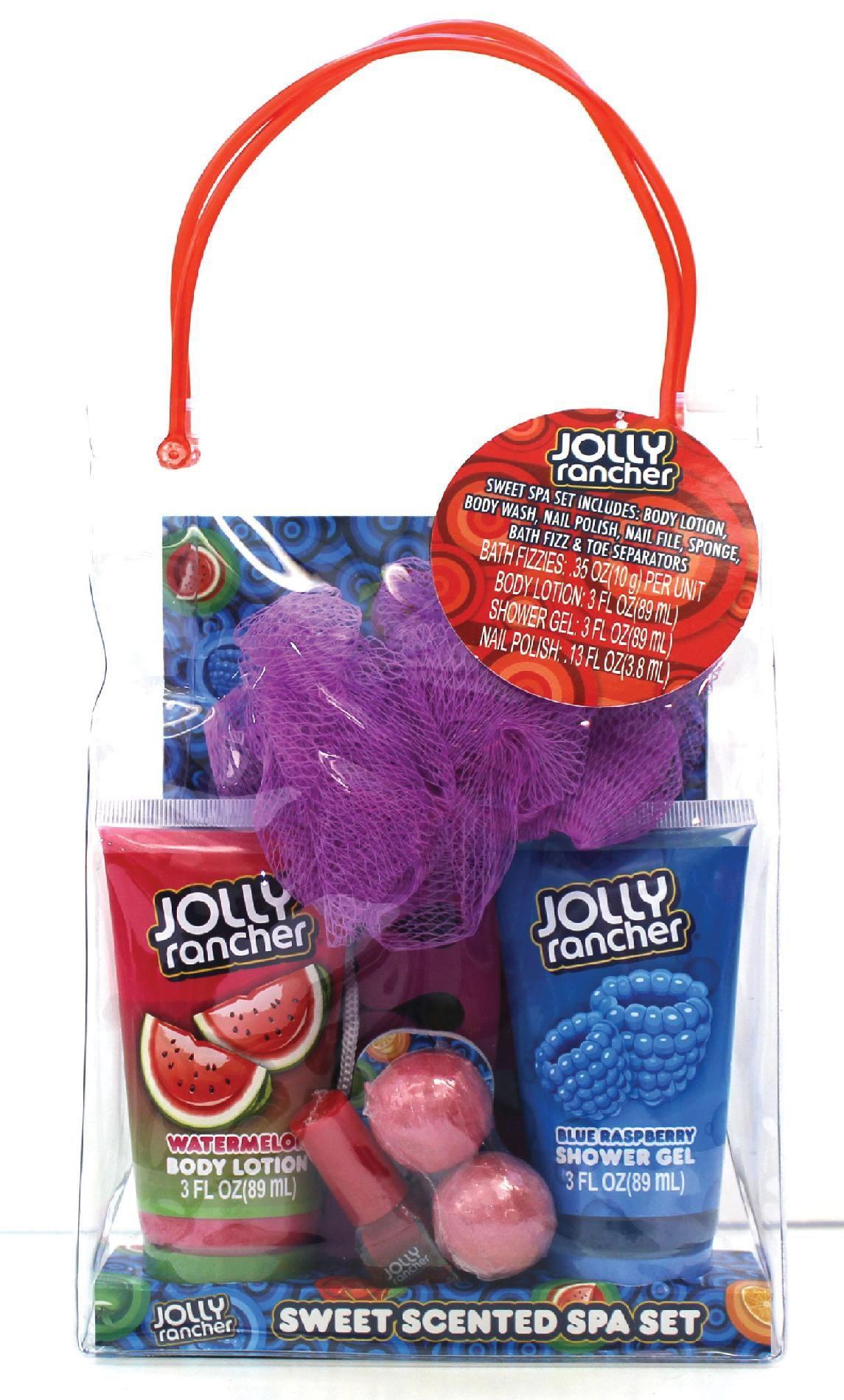Jolly Rancher 9 Piece Spa Bag - Beauty - Bath & Body - Bath Gift ...