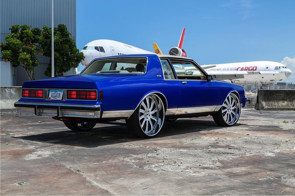 Box Chevy Caprice On 28 Inch Rims