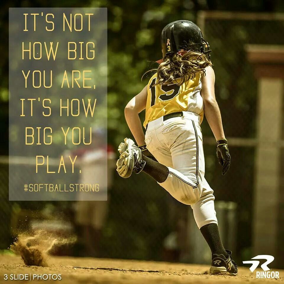 How Big Is Your Game Baseball Quotes Baseball Quotes Mlb Sports Chicago Cubs Boston Red Sox Los Angeles D In 2020 Softball Quotes Girls Softball Quotes Ringor Softball