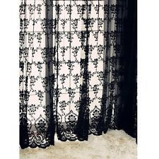 Black Lace Curtains Google Sogning Drapes Curtains Lace