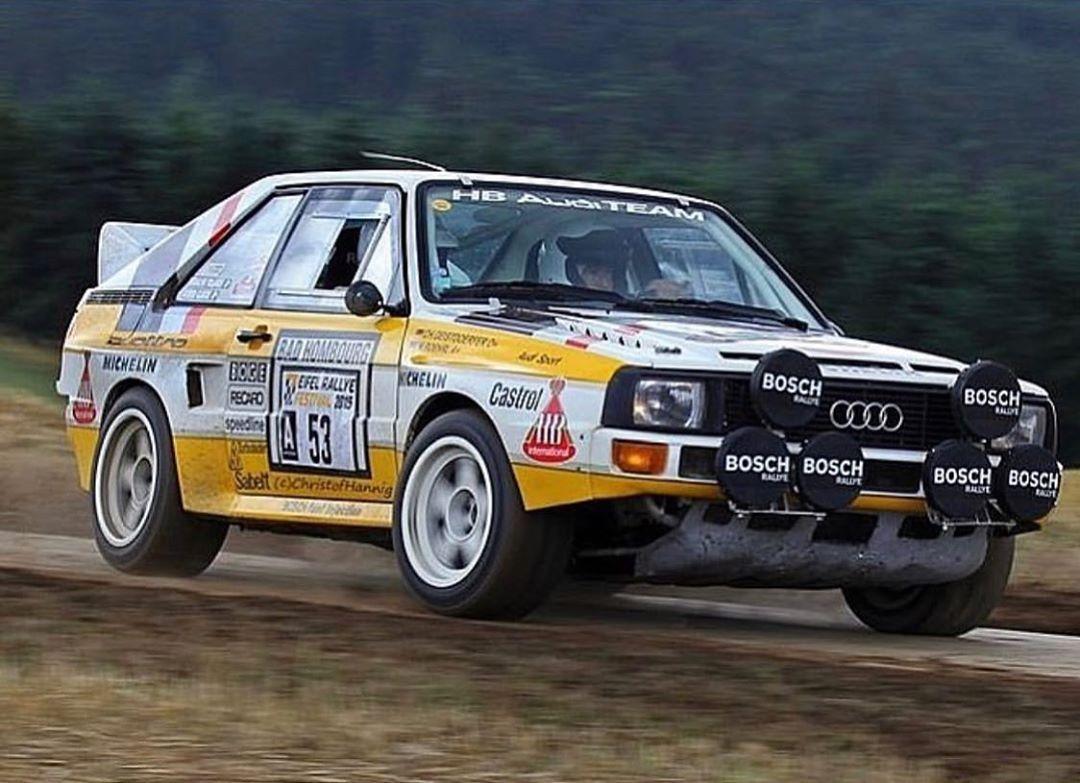 Audi Quattro...👌👌🔥🔥 . . . . . rally rallye rallycar