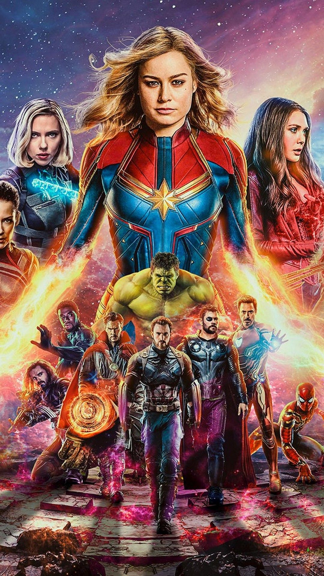 Avengers Endgame Iphone Wallpaper Marvel Cinematic