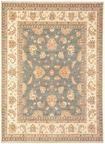 Teppich Wohnzimmer Carpet Orientalisches Design CHOBI CLASSIC RUG 100 Wolle 240x340 Cm Rechteckig Beige