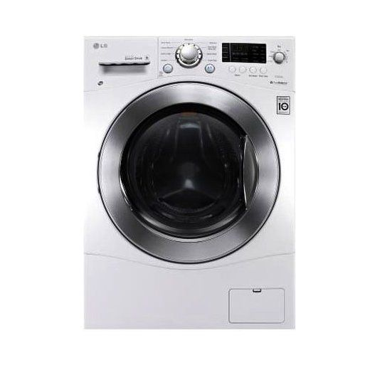 The Lg Wm3477hw Has A Wide Door For Easy Loading Find Out More About This Washer Dryer Combo In Our Washer Dryer Combo Ventless Dryer Combination Washer Dryer