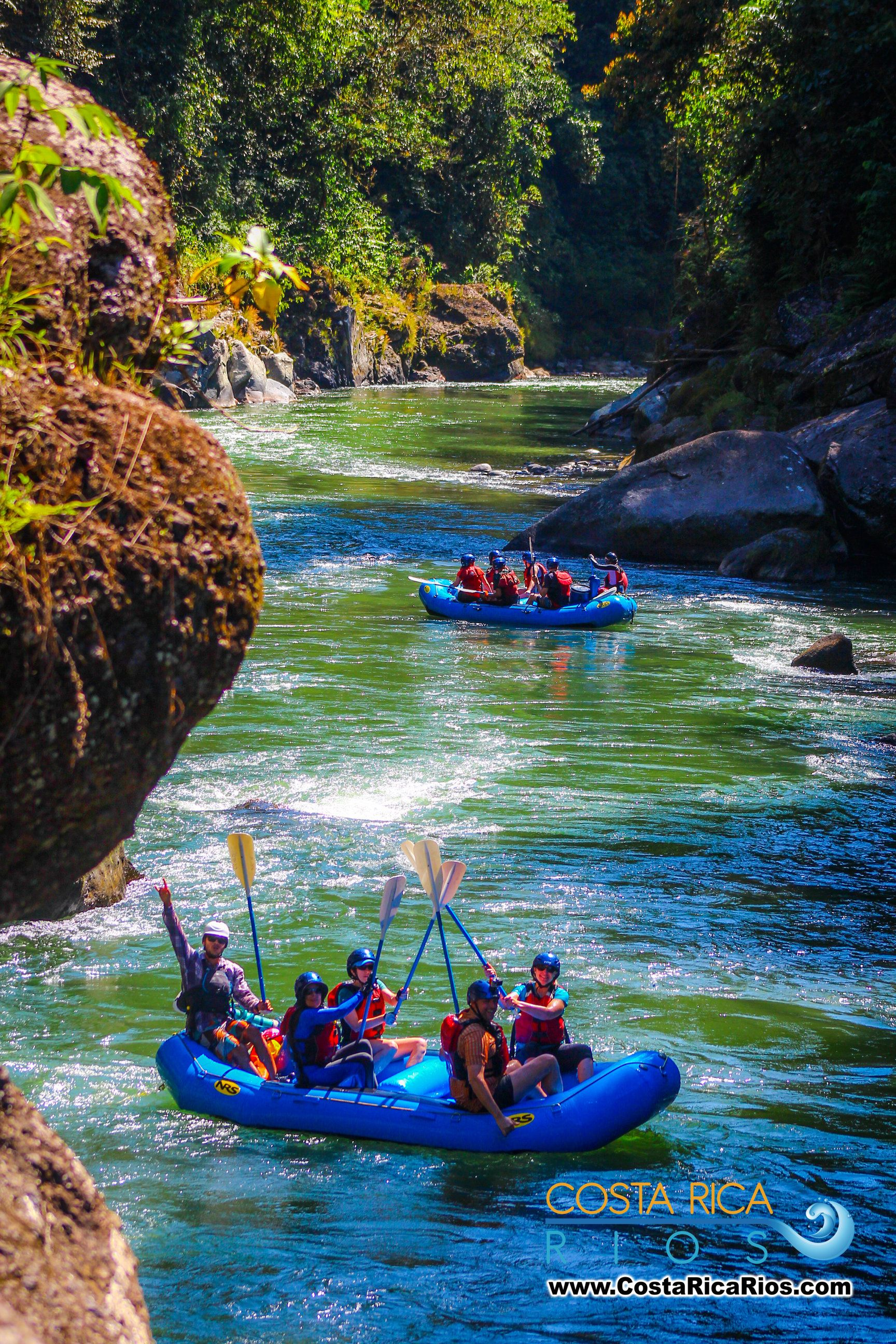 A Days Rafting On The World Famous Lower Pacuare River Costa Rica - World famous river name