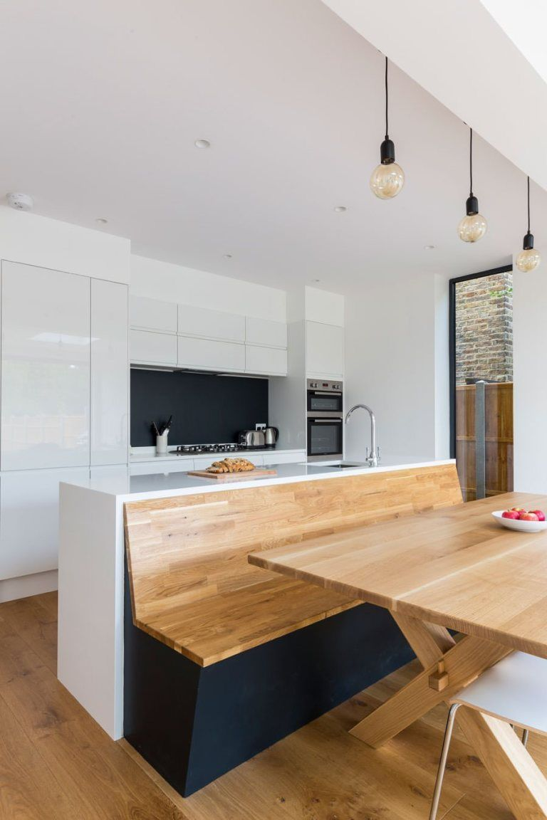 0558 - Rear extension in Surbiton - featured in House Beautiful