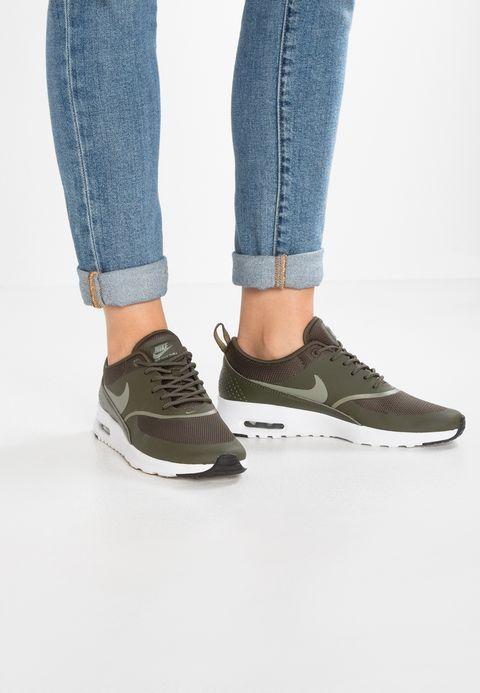 Nike Sportswear AIR MAX THEA - Trainers - cargo khaki/dark stucco/black SP0Yo7