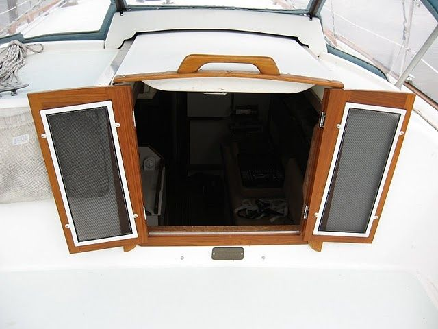DIY Hatch Doors With Screens Plexi And A Handle On The Overhead Sliding