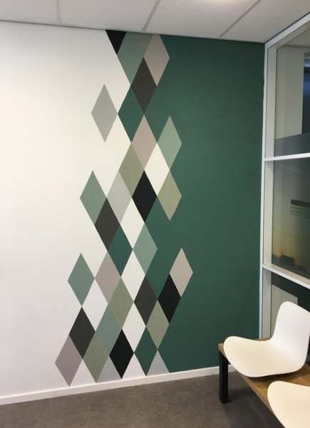 Cool Wall Painting Ideas Patterns 52 Trendy Ideas In 2020 Bedroom Wall Paint Bedroom Wall Designs Wall Paint Patterns
