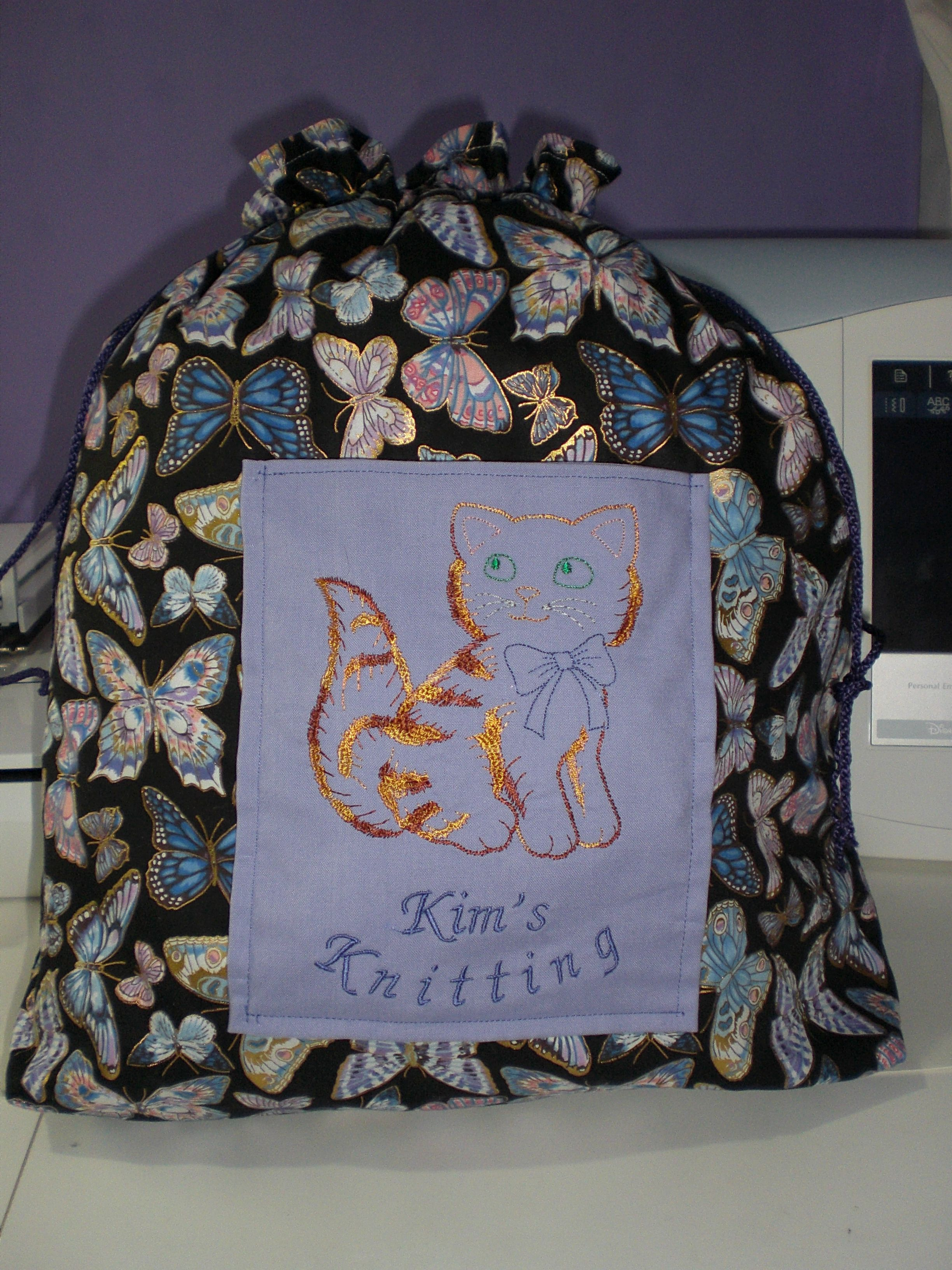 Knitting bag 2