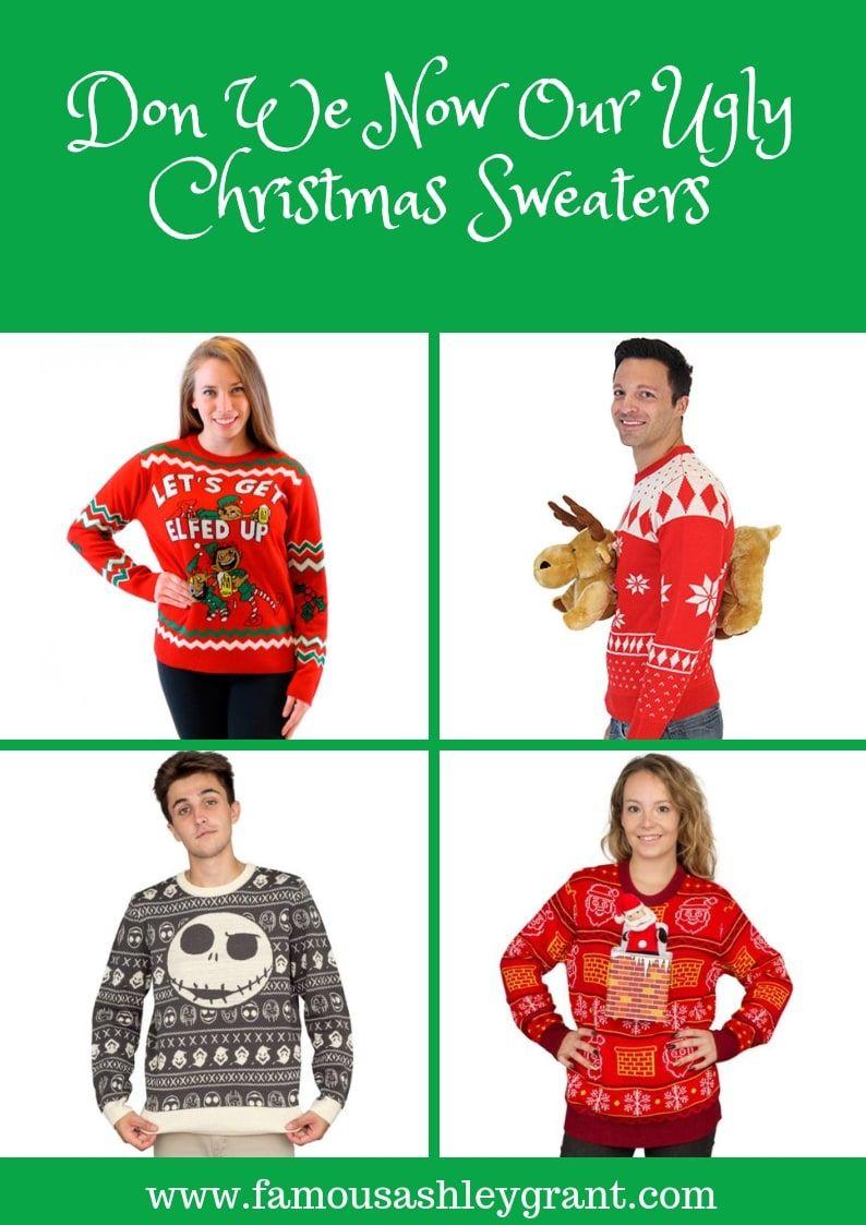 I Love Me Some Ugly Christmas Sweaters Yall Like A Lot And So I