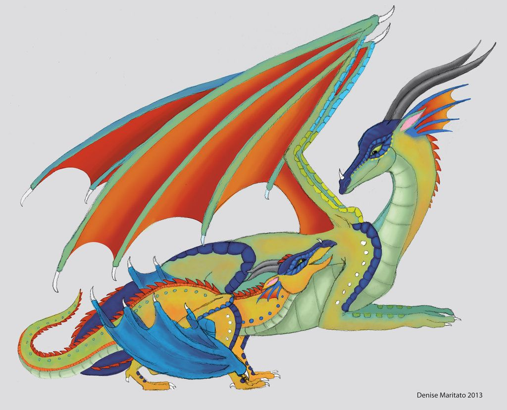 Wings of Fire - Glory and Kinkajou by Demari30.deviantart ...