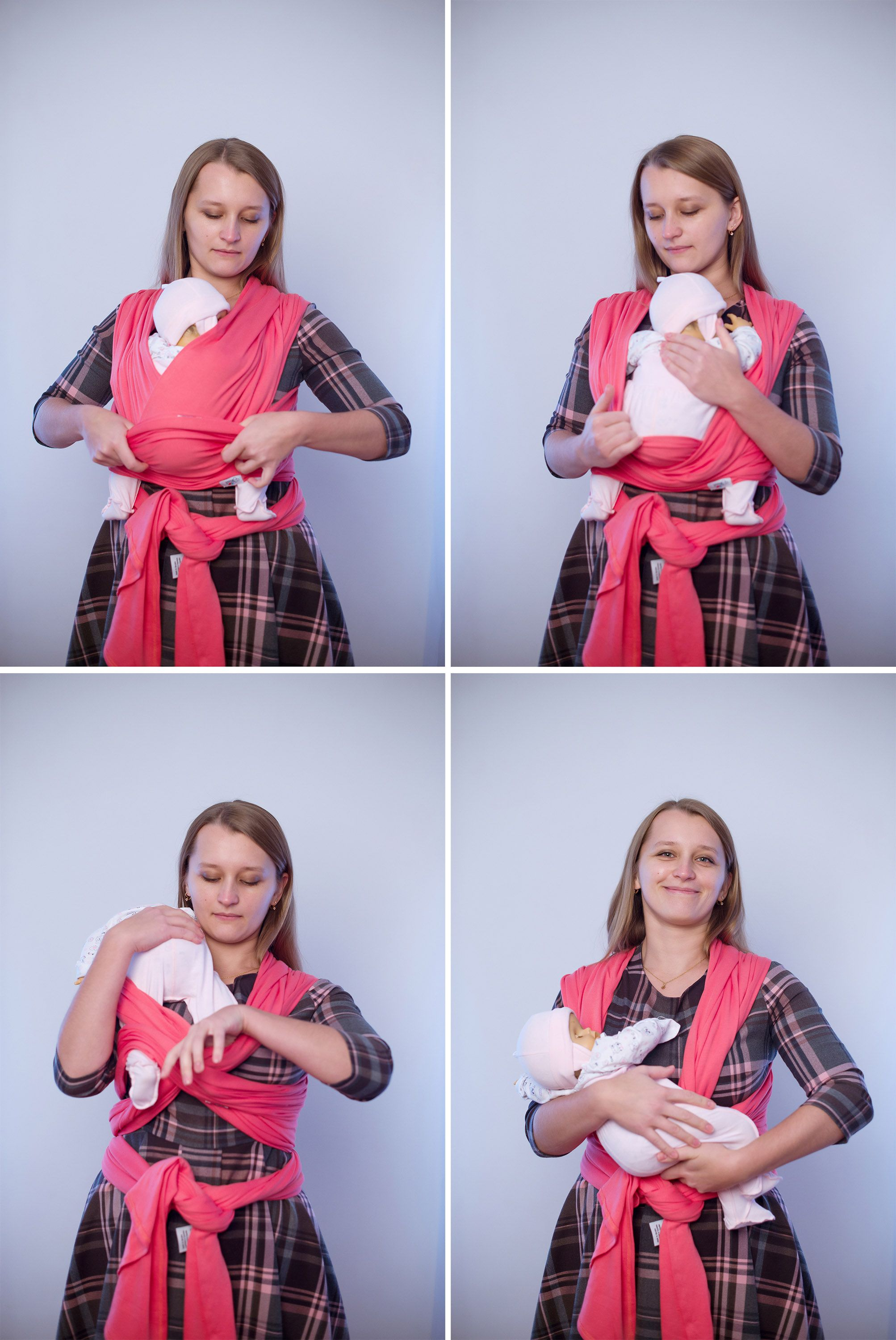 240a3beb478 How to put the baby out of a wrap carrier Okrosh