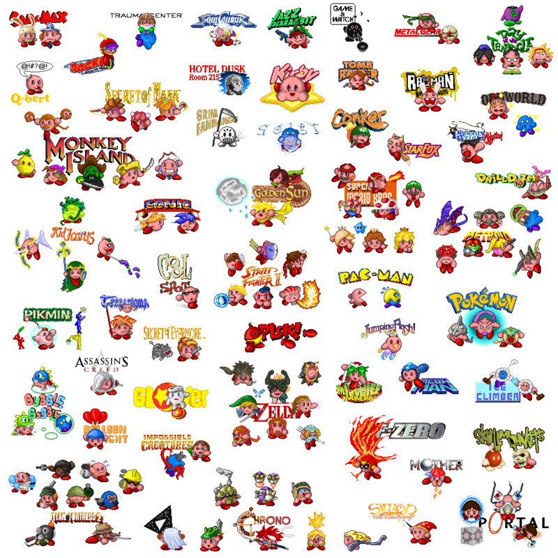 Kirby Hats (aka Only the greatest sprites ever!) | Kirby ...