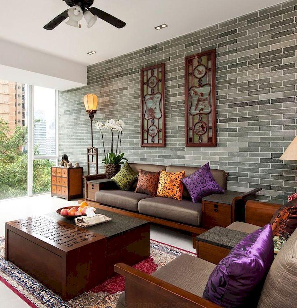 6 Asiatisches Wohnzimmer Dekor-Ideen (6  Asian living rooms