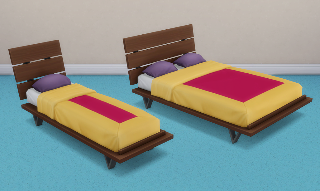 Veranka's TS4 Downloads Futon Bed Frames and Mattresses
