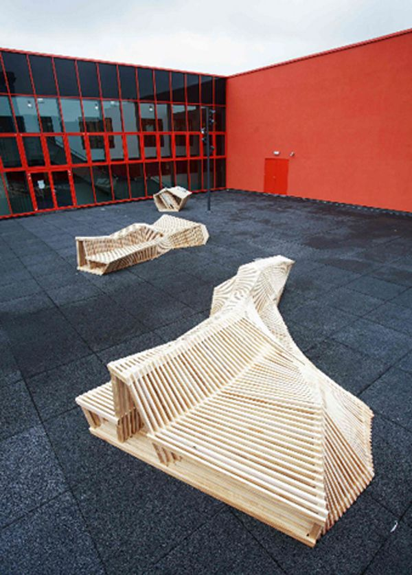 15 Urban Furniture Designs You Wish Were On Your Street Modern Art