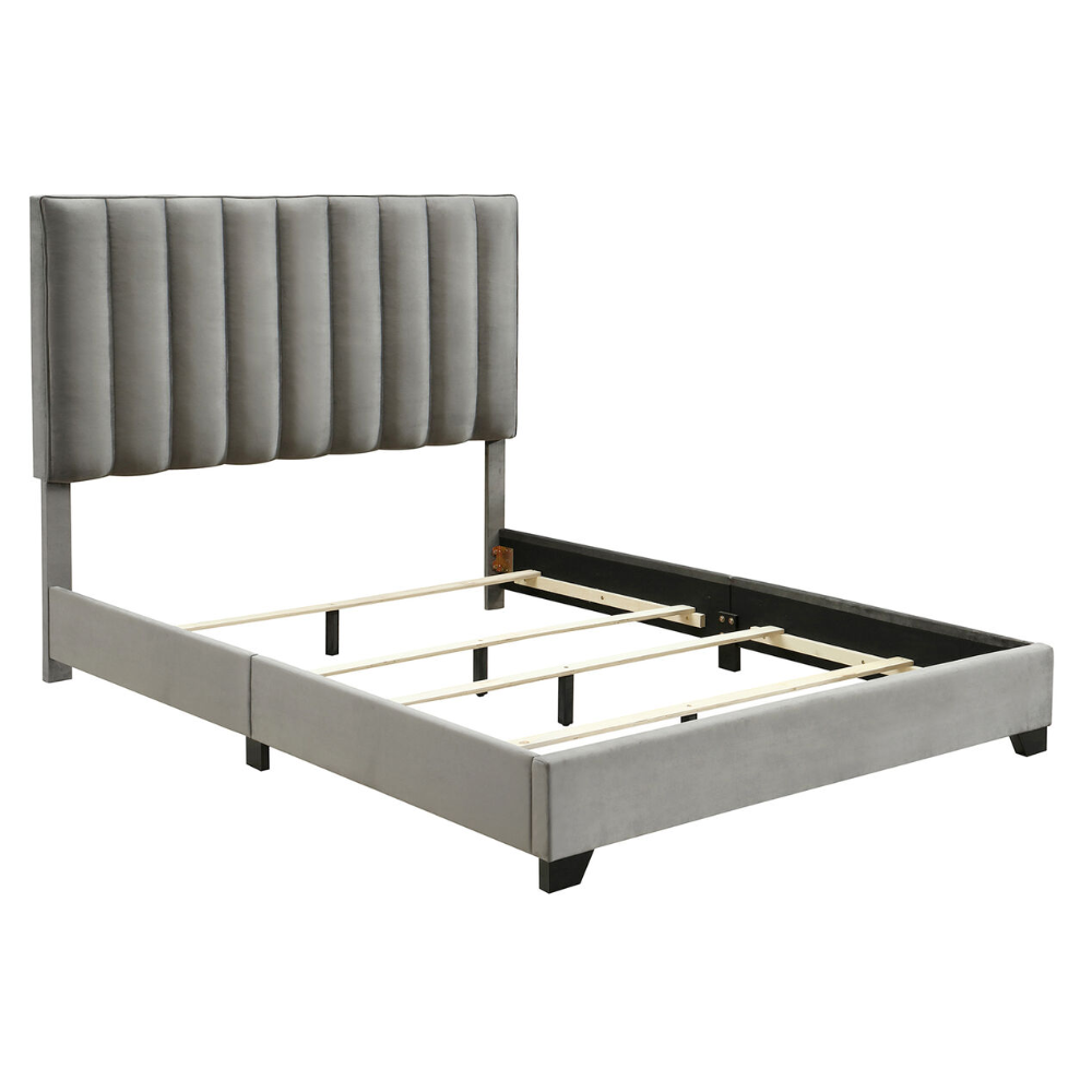 Channeled Bed In A Box In 2020 Box Bed Furniture Home Furniture Channel Bed Box Bed Affordable Bed Frames