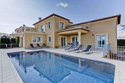 Belle Villa A Moraira Pour 6 Personnes 3 Chambres Avec Piscine