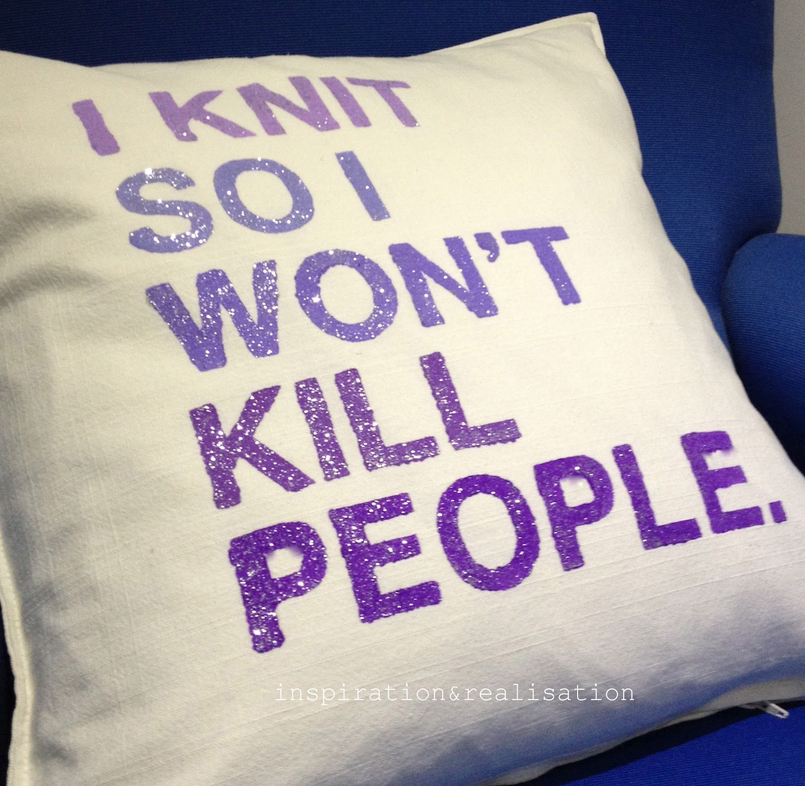 I create so I won't kill people-quote pillow