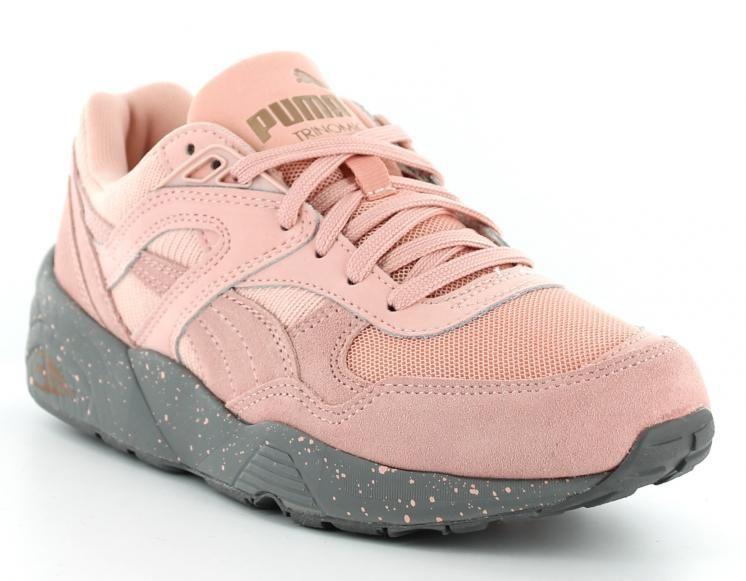 chaussure puma femmes rose
