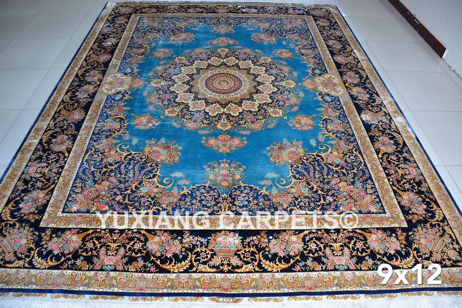 Yuxiang Carpets On Chinese Pure Silk
