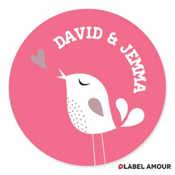 tweet tweet wedding love bird